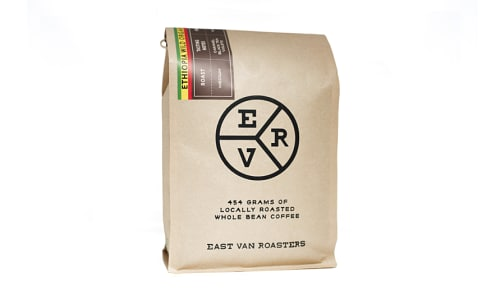 Organic Ethiopia Coffee - Whole Bean- Code#: DR4004