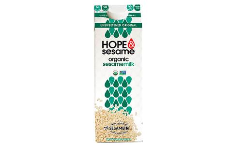 Organic Unsweetened Sesame Milk- Code#: DR4043