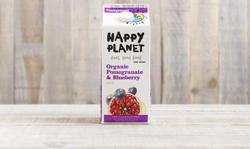 Organic Pomegranate & Blueberry Juice- Code#: DR421