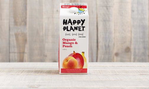 Organic Mango & Peach Juice- Code#: DR423