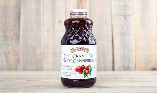 Just Cranberry Juice- Code#: DR452