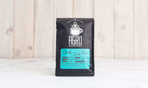 Organic Decaf Dark Peru Coffee- Code#: DR5155