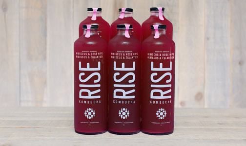 Organic Hibiscus Rose Hips Kombucha - CASE- Code#: DR545-CS