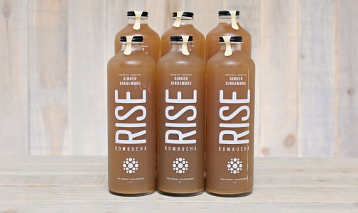 Organic Ginger Kombucha - CASE- Code#: DR547-CS