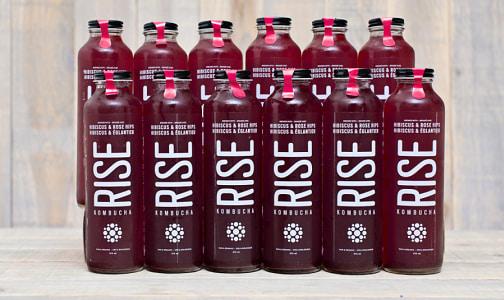 Organic Hibiscus Rose Hips Kombucha - CASE- Code#: DR565-CS
