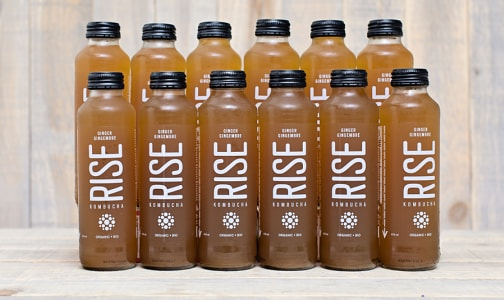 Organic Ginger Kombucha - CASE- Code#: DR567-CS
