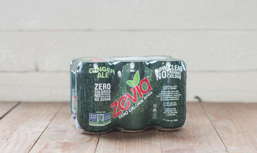 Natural Ginger Ale - Zero Calorie- Code#: DR577