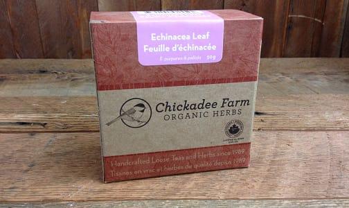 Organic Echinacea Leaf Tea- Code#: DR8025
