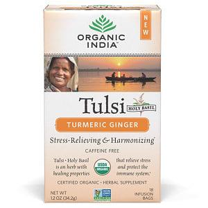 Organic Tulsi Turmeric Ginger Tea- Code#: DR8039