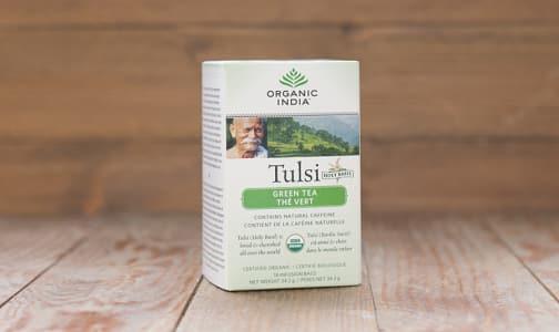 Organic Tulsi Green Tea- Code#: DR843