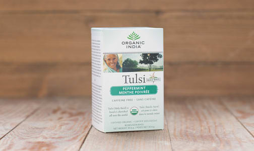 Organic Tulsi Peppermint Tea- Code#: DR844