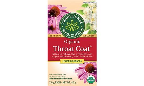 Organic Throat Coat Lemon Echinacea- Code#: DR919