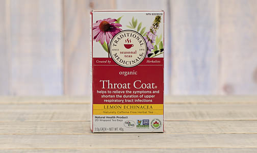 Organic Throat Coat Lemon Echinacea- Code#: DR919