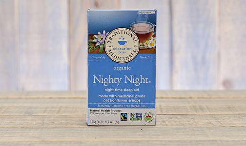 Organic Nighty Night Tea- Code#: DR921