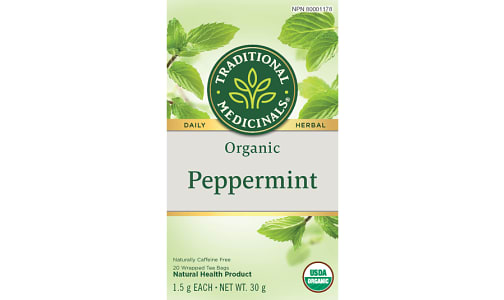 Organic Peppermint Tea- Code#: DR927