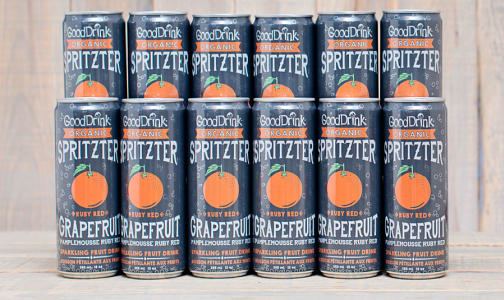Organic Ruby Red Grapefruit Spritzter - CASE- Code#: DR9471-CS