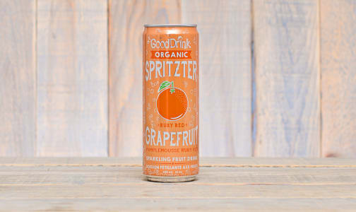 Organic Ruby Red Grapefruit Spritzter- Code#: DR9471