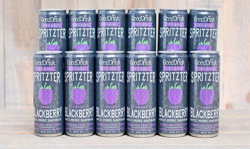 Organic Wild Blackberry Spritzter - CASE- Code#: DR9473-CS