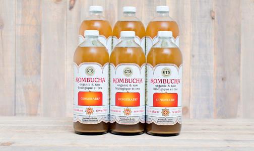 Organic Gingerade Kombucha - CASE- Code#: DR9551-CS