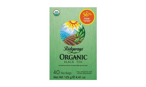 Organic Black Tea- Code#: DR956