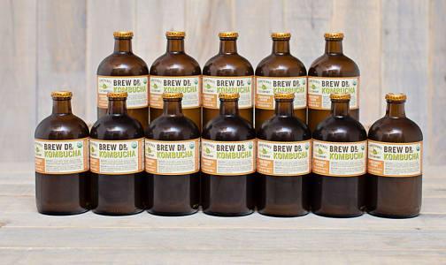 Organic Lemon Ginger Cayenne Kombucha - CASE- Code#: DR9602-CS