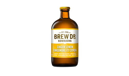 Organic Lemon Ginger Cayenne Kombucha- Code#: DR9602