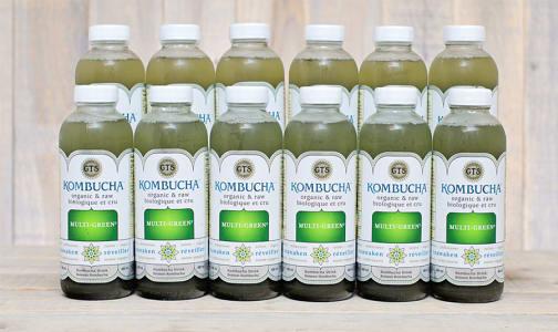 Organic Multigreen Kombucha - CASE- Code#: DR961-CS