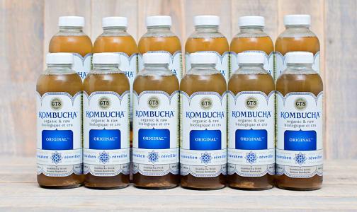 Organic Original Kombucha - CASE- Code#: DR962-CS