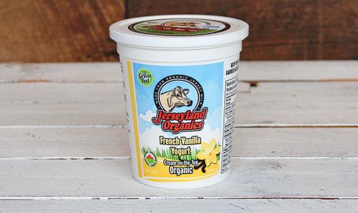 Organic French Vanilla Yogurt- Code#: DY0018