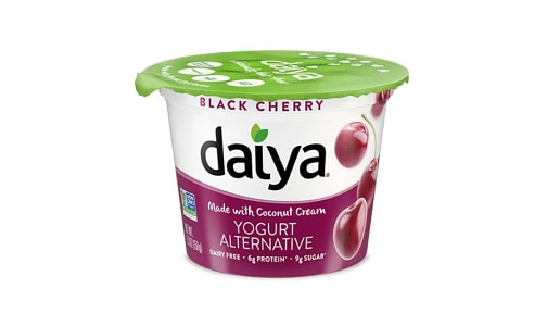 Black Cherry Dairy-Free Yogurt- Code#: DY0029