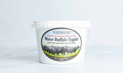 Water Buffalo Yogurt - Plain - Thick Balkan Style- Code#: DY0108