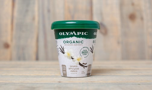 Organic Grass Fed Smoked Applewood Vanilla Yogurt 6.5% MF- Code#: DY0118