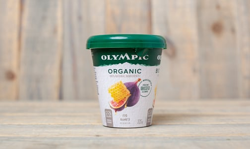 Organic Grass Fed Fig & Honey Yogurt - 6.5% MF- Code#: DY0120