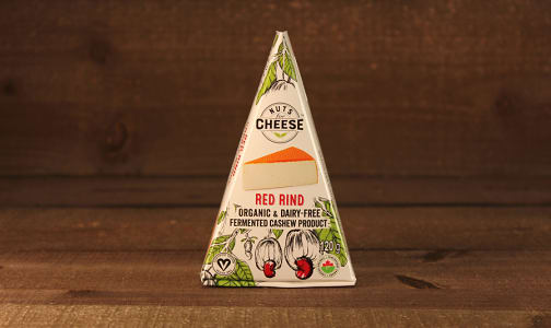 Organic Cultured Cashew Cheese - Red Rind- Code#: DY0124