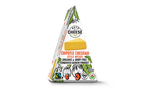 Organic Cultured Cashew Cheese - Chipotle Cheddar- Code#: DY0125