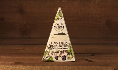 Organic Cultured Cashew Cheese - Black Garlic- Code#: DY0126