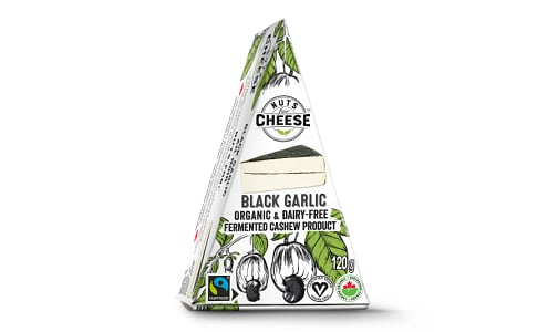 Organic Cultured Cashew Cheese- Black Garlic- Code#: DY0126
