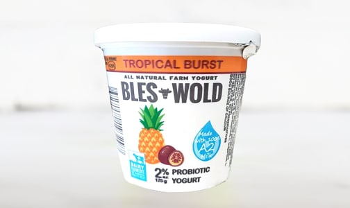 Bles-Wold Tropical Burst Yogurt- Code#: DY0137
