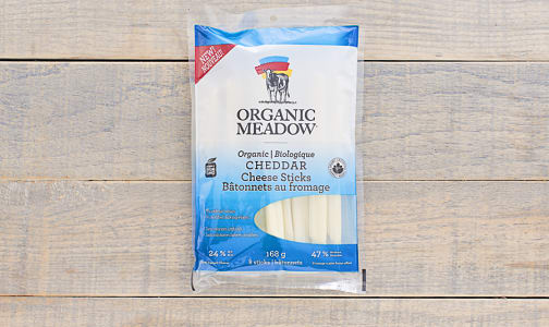 Organic Milk Cheddar Cheese Sticks- Code#: DY013