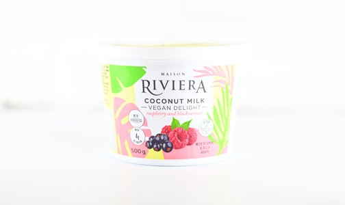 Coconut Vegan Delight - Raspberry Blackcurrant- Code#: DY0150