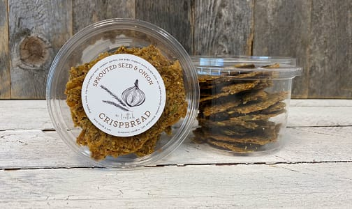 Organic Sprouted Seed & Onion Crispbread- Code#: DY0159