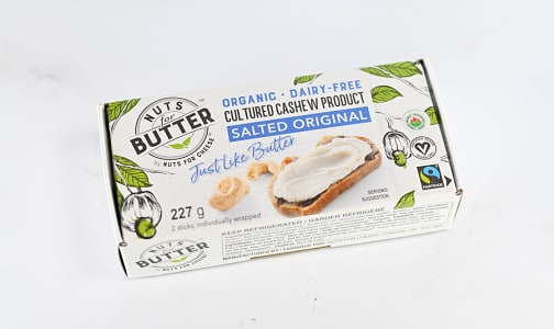 Organic Nuts for Butter - Salted Original- Code#: DY0160