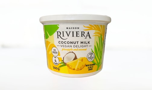 Vegan Delight - Pineapple Coconut- Code#: DY0171