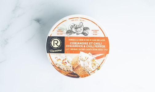 Cashew Cream Cheese - Coriander & Chili- Code#: DY0175