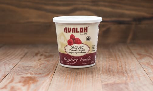 Organic Raspberry Yogurt - 2.6% MF- Code#: DY069