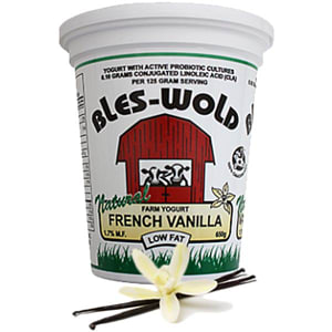 French Vanilla Yogurt- Code#: DY3119