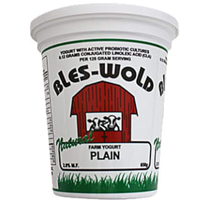 Plain Yogurt- Code#: DY3127