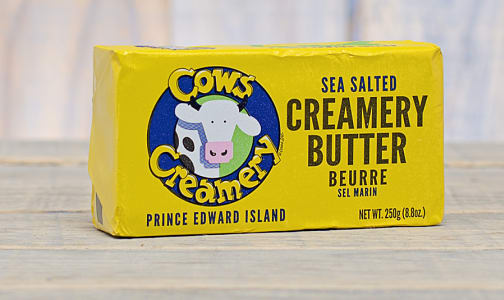 Sea Salted PEI Butter (84% Butter Fat)- Code#: DY520