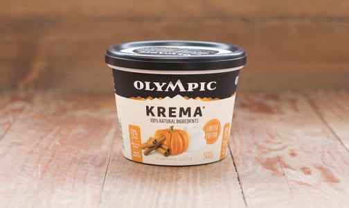 Krema Pumpkin Spice Yogurt - Limited Edition- Code#: DY572