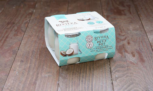Petit Pot - Set Style Coconut Yogurt- Code#: DY622